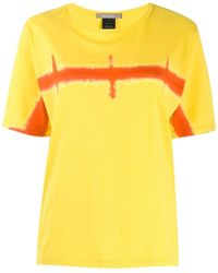 Suzusan - Horizon Print T-shirt - Lyst