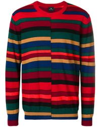 PS by Paul Smith - Striped Jumper - Lyst