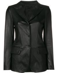 Sylvie Schimmel - Lord Press Stud Fitted Jacket - Lyst