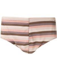 Amir Slama Striped Trunks - Multicolor