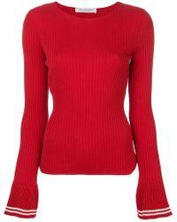 Philosophy Di Lorenzo Serafini - Ribbed Pleated Cuff Sweater - Lyst