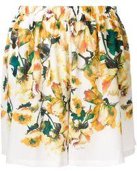 Roseanna - Floral Print Shorts - Lyst
