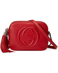 Gucci - Small Leather Soho Disco Bag - Lyst