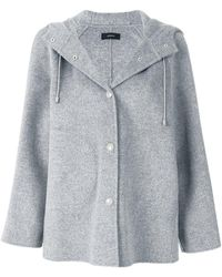JOSEPH - Hooded Jacket - Lyst