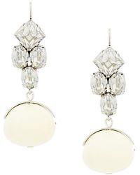 Isabel Marant - Embellished Drop Earrings - Lyst