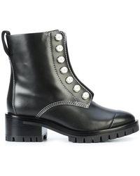 3.1 Phillip Lim   Hayett Lug Sole Pearl Boots   Lyst