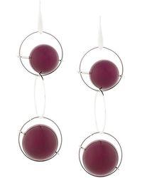 Marni | Hanging Orb Earrings | Lyst