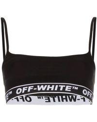 Off-White c/o Virgil Abloh - Sport-BH mit Logo-Bund - Lyst