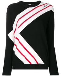 Karl Lagerfeld - K-striped Jumper - Lyst