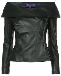 Ralph Lauren Collection - Off-the-shoulder Jacket - Lyst