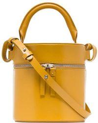 Building Block - Yellow Drum Leather Shoulder Bag - Lyst