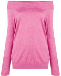 Snobby Sheep - Off-shoulder Fitted Sweater - Lyst
