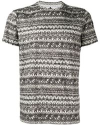 Moncler - Printed T-shirt - Lyst