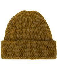 Universal Works Lambswool Fleck Beanie Hat - Lyst 74e528eb86d9