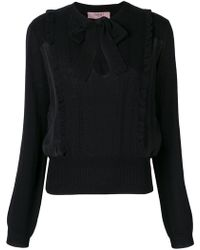 Twin Set - Bow Blouse - Lyst