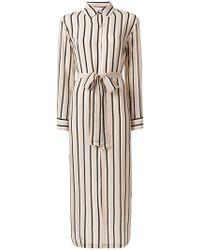 Asceno - Striped Shirt Dress - Lyst