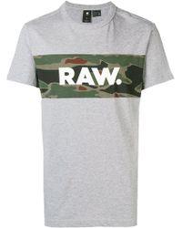 G-Star RAW - Military Raw T-shirt - Lyst