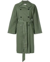 MASSCOB - Denim Trench Coat - Lyst