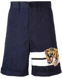 Gucci - Bengal Tiger Bermuda Shorts - Lyst