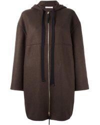 Marni - Hooded Coat - Lyst