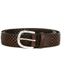 Orciani | Perforated Belt | Lyst
