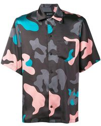MISBHV - Camouflage Print Shirt - Lyst