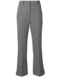 Sportmax - Houndstooth Trousers - Lyst