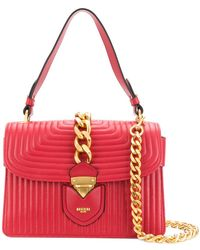 Moschino - Quilted Chain Trim Tote - Lyst
