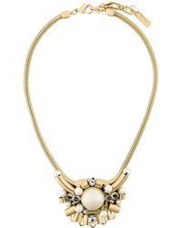 Rada' - Oversized Pendant Short Necklace - Lyst