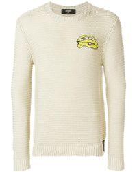 Fendi - Long Sleeve Sweater - Lyst
