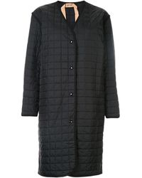 N°21 パデッドコート - ブラック