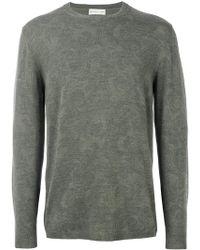 Etro - Light Floral Embroidery Sweatshirt - Lyst
