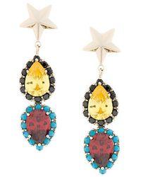 Iosselliani - Elegua Star Earrings - Lyst