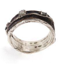 Henson - Cavity Set Ring - Lyst