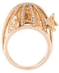 Christina Debs - Bird Cage Diamond Ring - Lyst