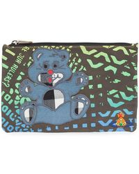 Vivienne Westwood Anglomania - 'manhole Teddy' Zipped Pouch - Lyst