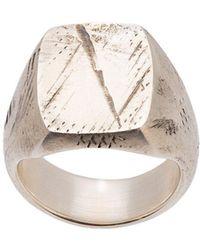 Werkstatt:münchen - Signet Ring - Lyst