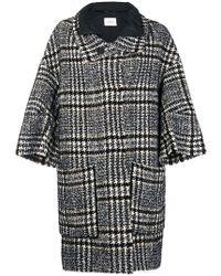 Dorothee Schumacher - Plaid Oversized Coat - Lyst