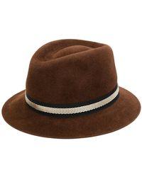 Lanvin - Embellished Mesh Chain Hat - Lyst