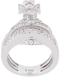 Vivienne Westwood Anglomania - Orb Ring - Lyst