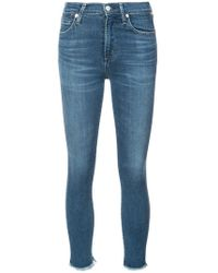 Citizens of Humanity - Frayed Jeans - Lyst