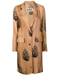 Uma Wang - Tree Print Single Breasted Coat - Lyst
