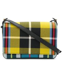 c60276d486 Stella Mccartney Falabella Checked Faux-leather Cross-body Bag in ...