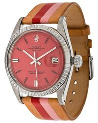 La Californienne - Fraise Peony Rolex Oyster Perpetual Datejust Stainless Steel Watch 36mm - Lyst