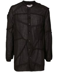By Walid - Patch Stitched Shirt - Lyst