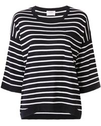 Snobby Sheep - Striped Oversized Jumper - Lyst