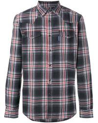 Hydrogen - Checked Shirt - Lyst