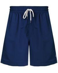 Polo Ralph Lauren - Drawstring Waist Swim Shorts - Lyst