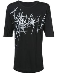 The Viridi-anne - Printed Jersey T-shirt - Lyst