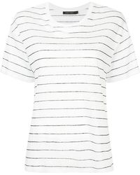 Nobody Denim - Striped T-shirt - Lyst